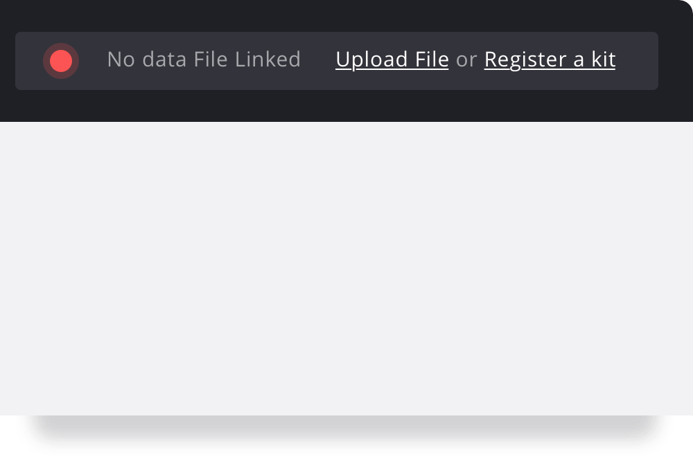 Data File Not Linked